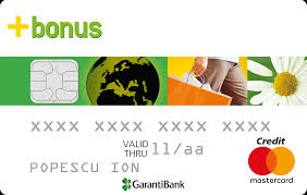 Card GarantiBank Bonus+